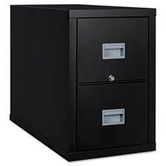 ** Patriot Insulated 2-Drawer Fire File, 17-3/4w x 31-5/8d x 27-3/4h, Black **  #4COU #Home