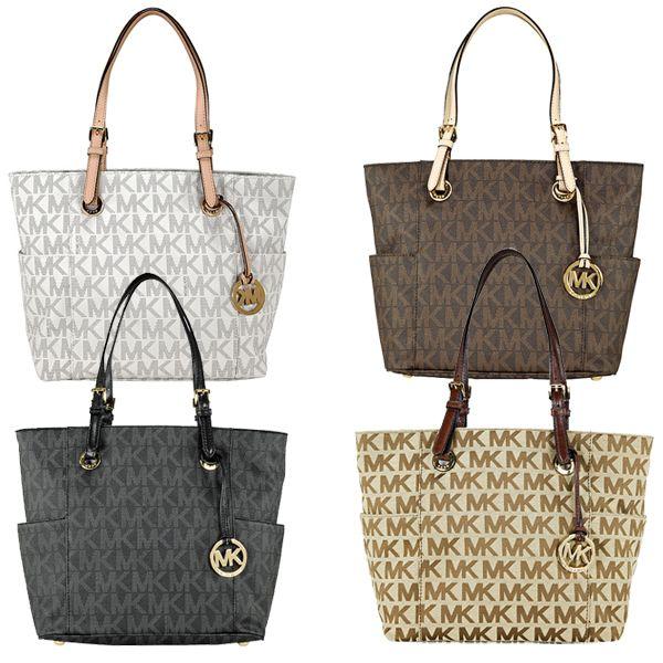 Michael Kors Jet Set Signature Logo Tote in Clothing, Shoes \u0026 Accessories,  Women\u0027s Handbags \u0026 Bags, Handbags \u0026 Purses