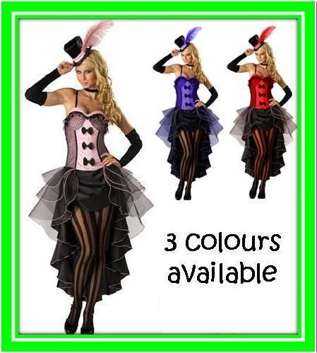 Burlesque Moulin Rouge Fancy Dress Costumes Dance Outfit Woman Clothes Wardrobe | eBay