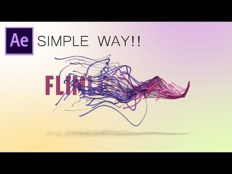 After Effects Tutorial: Particles Text Effects (simple way!!!!) - YouTube