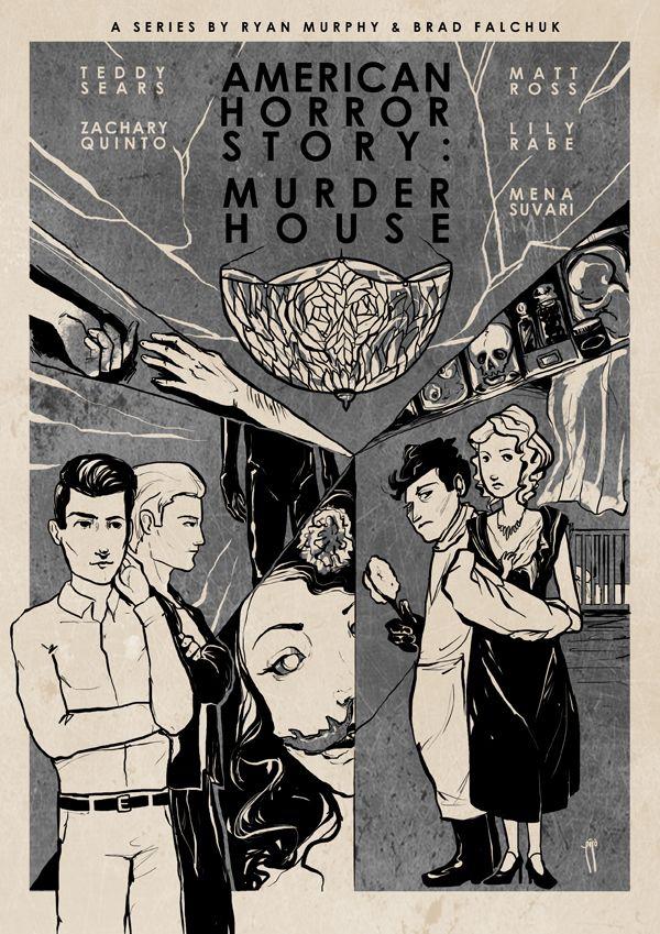 Scars, American Horror Story - Murder House by robso.deviantart.com on @deviantART
