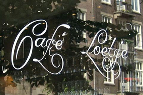 Café Loetje offers the best steak.