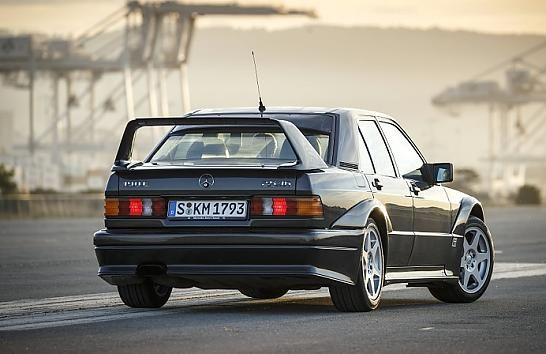 Mercedes 190 E 2.5-16 Evo II - 502 cars made....
