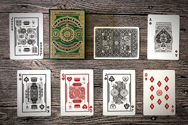 Deck View: High Victorian Playing Cards