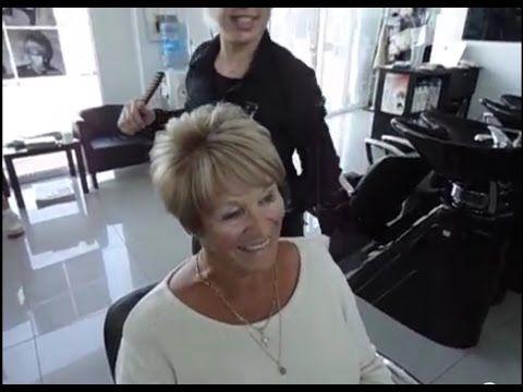 How to Blow dry short hair Technique 2015 ?Hoe do je fohnen kort haar?Tips Top stylist Amal Hermuz - YouTube