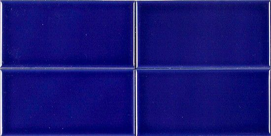 Cobalt Blue Ceramic Subway Tile 3 X 6 Cobalt Pinterest Cobalt Ceramics And Cobalt Blue