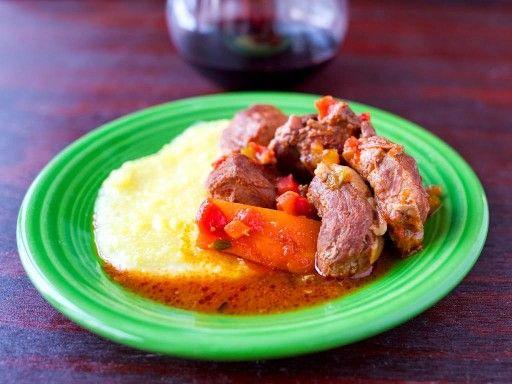 Pressure Cooker Wild Boar Stew (Spezzatino di Cinghiale)