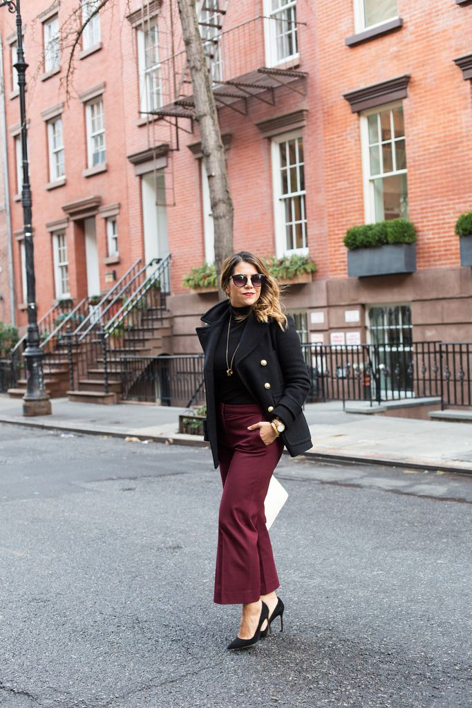 What to Wear to Work | Culotte Pants