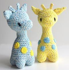 hæklet giraf rangle