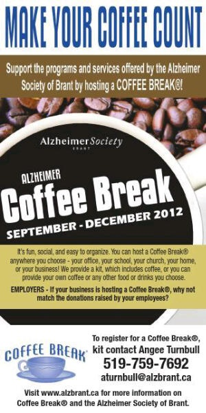 Coffee Break is here, it is a fun and fast fundraiser. Make your coffee count.