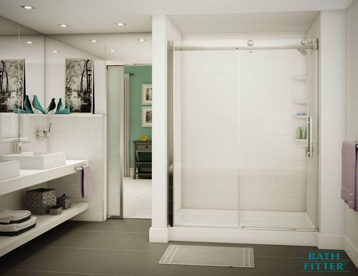 One day. A bathroom for life.   Schedule your in-home estimate today: http://www.bathfitter.com/free-in-home-estimate.aspx