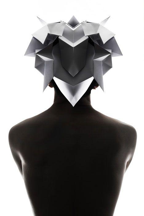 Qi Hu | Origami headgear