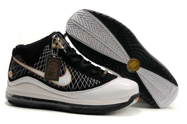 http://www.airfoamposite.com/nike-lebron-7-black-white-p-308.html NIKE LEBRON 7 BLACK WHITE Only $88.88 , Free Shipping!