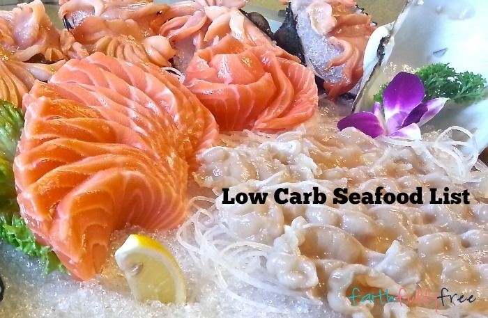 Low Carb Seafood List