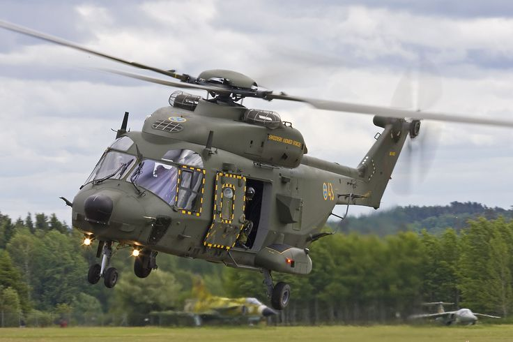 "zainisaari: ""Swedish Armed Forces NH90The NH90 is called Hkp14 in Sweden. Delays in the NH90 program forced Swweden into buying 15 Sikorsky UH-60M Black Hawk helicopters which were redirected from the..."