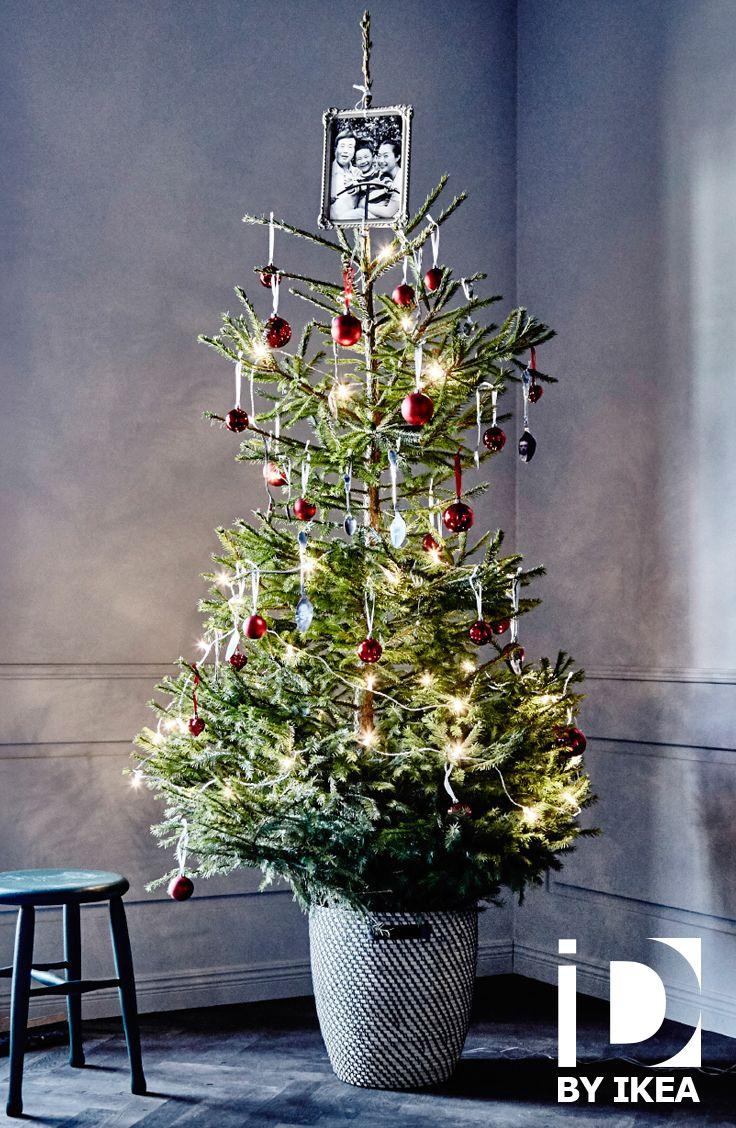 A noël, on se remémore les souvenirs des années passées. Et si on commencait par le sapin ? Sapin de Noël NORDMANN #IKEABE #idéeIKEA