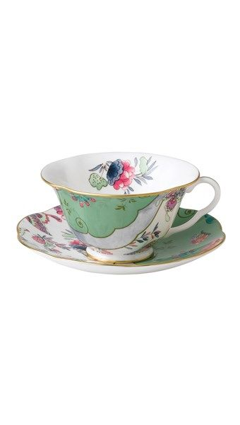 'Butterfly Bloom' Teacup & Saucer
