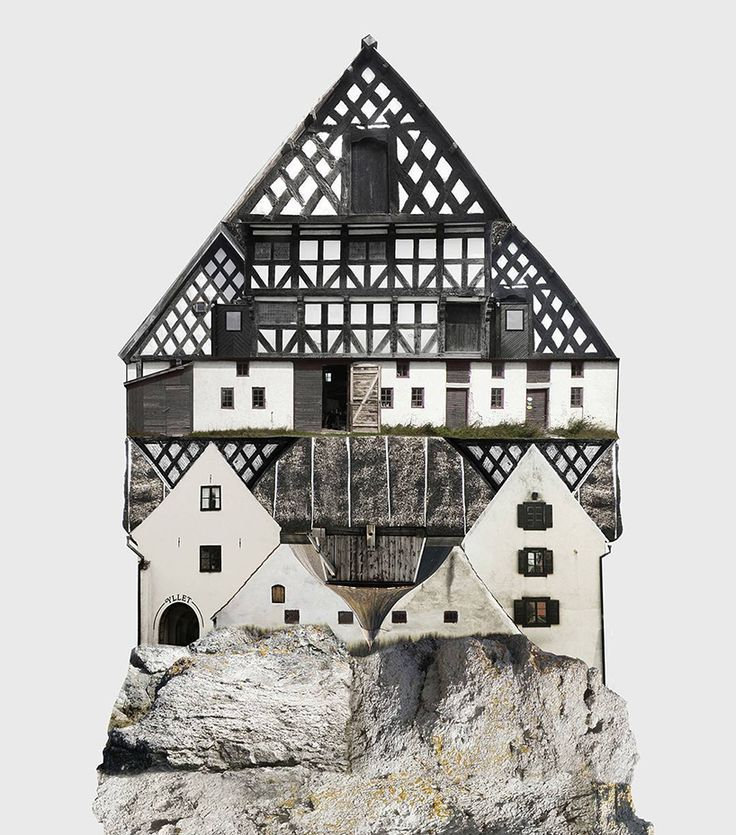 <p>In this beautiful mixed-media collages project, Swedish based artist Anastasia Savinova try to identify the differences and similarities between places of habitation. Travelling around cities and c