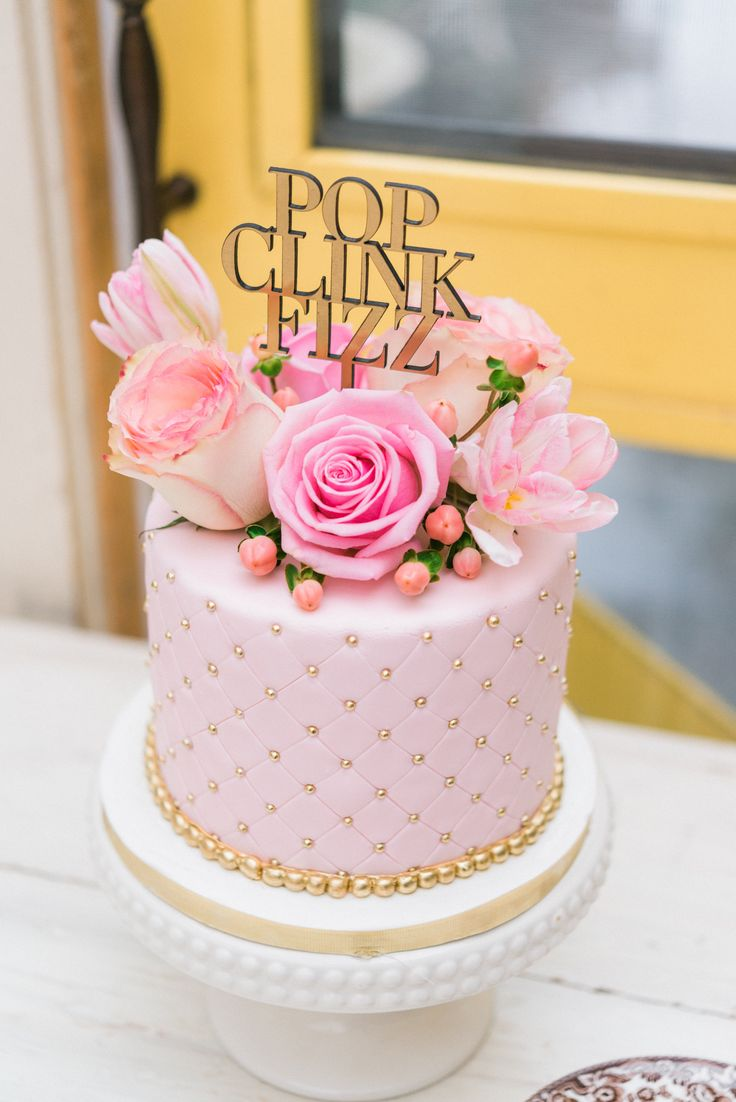 cupcake recipes for bridal shower%0A Pretty in Pink Bridal Shower Luncheon