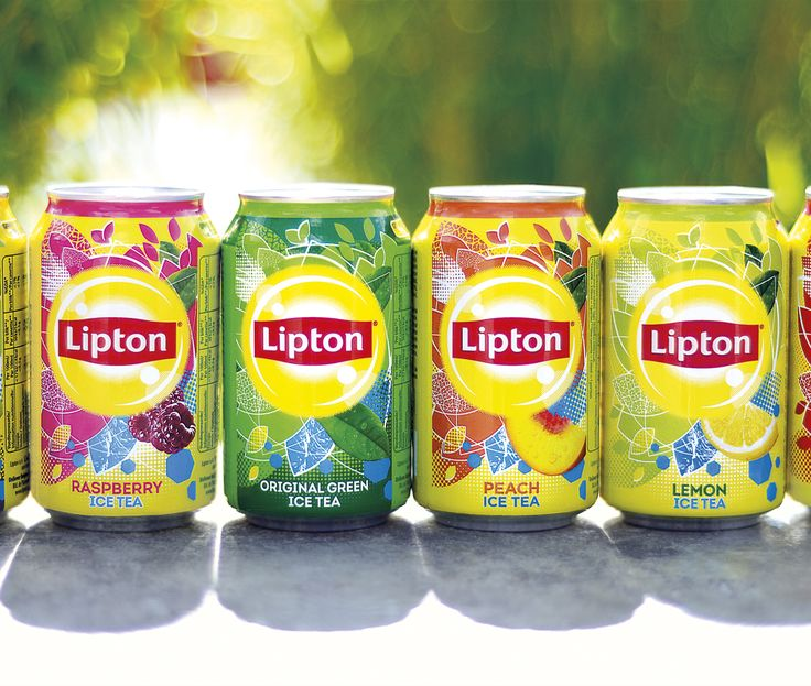Lipton Ice Tea new cans in situ 2