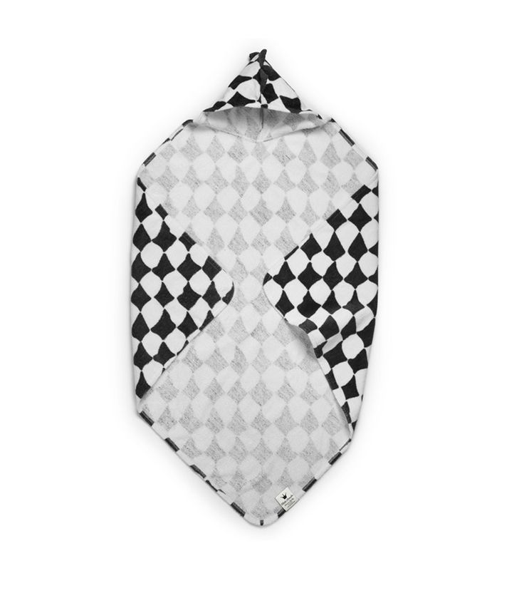 ELODIE DETAILS HOODED TOWEL - GRAPHIC GRACE