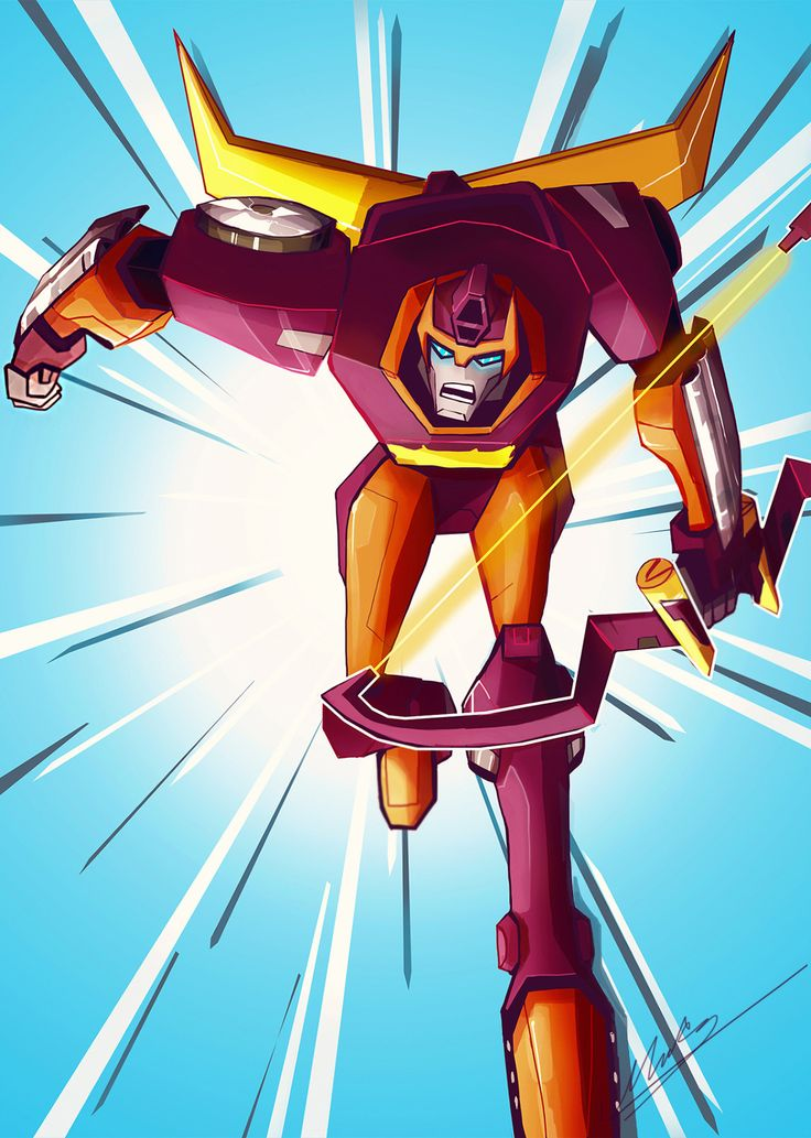 TFA Rodimus (With images) Transformers, Drawings, Cartoon