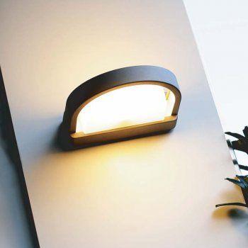 Lutec Lighting Origo 1849 Flushushat Arched Wall light £59.40