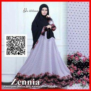zennia-gamis-pesta-terbaru-modern-mgs32-hitam