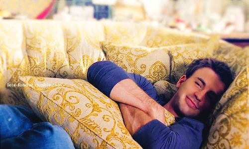 chris. I want him to be on my couch