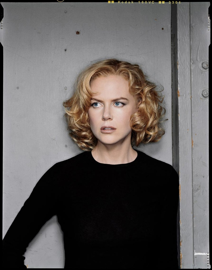 Nicole Kidman by Dan Winters...I like her hair, I wonder if I could pull it off after the wedding?