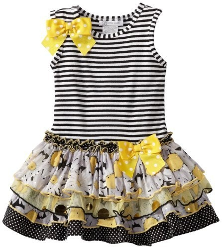 Gerson & Gerson Girls 2-6X Sparkle Tier Dress, Black, 4T Bonnie Jean,http://www.amazon.com/dp/B009XUJWKM/ref=cm_sw_r_pi_dp_J3sjrb03HJA2JWYM