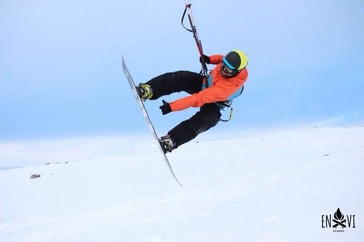 Our snowkite trip to norway #snowkiten