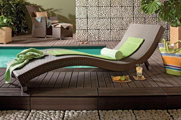 Un sezlong care indeamna la relaxare. #kikaromania #sezlong #gradina #relaxare #zen