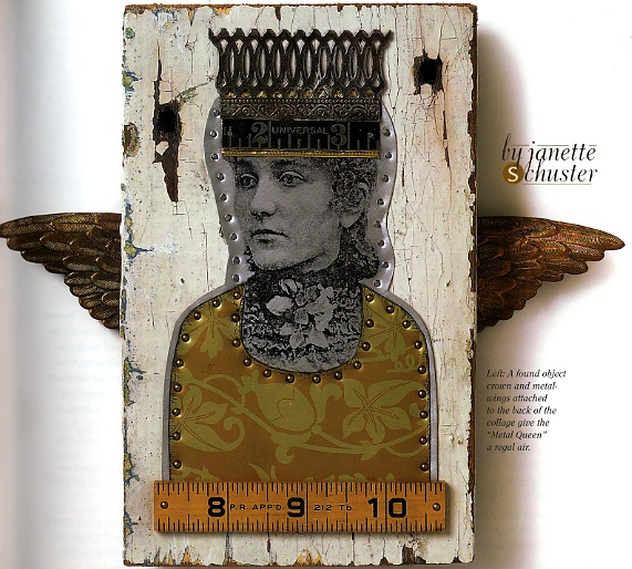 assemblage wood doll