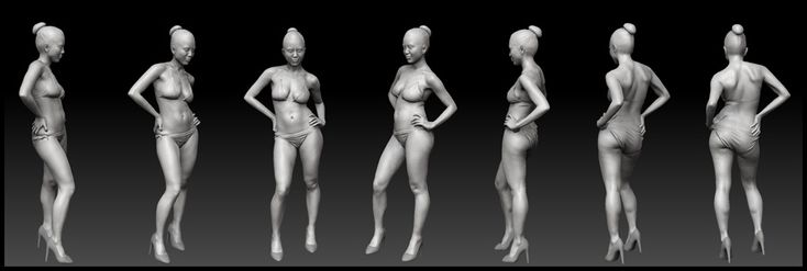 Full Body 3D scan. We capture every subtle nuance and 3D characters are built from them for film, games, TV and VR.