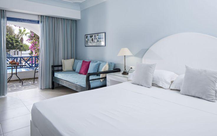 Veggera Hotel Perissa Santorini - Elegant and Spacious Rooms