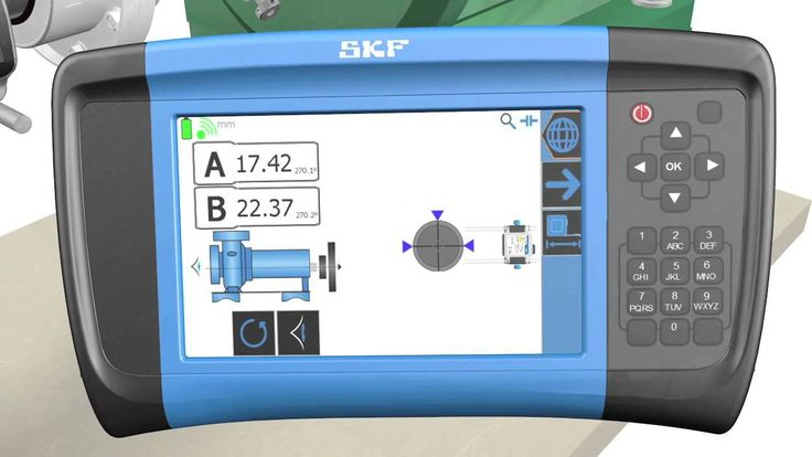 The Shaft Alignment Tool TKSA 80 is the most advanced tool developed by SKF, capable of increasing your alignment knowledge and management.