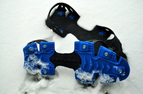 Sweet ice traction!!