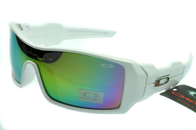 Oakley Limited Editions Sunglasses White Frame Rainbow Lens 0779 [ok-1789]  - On