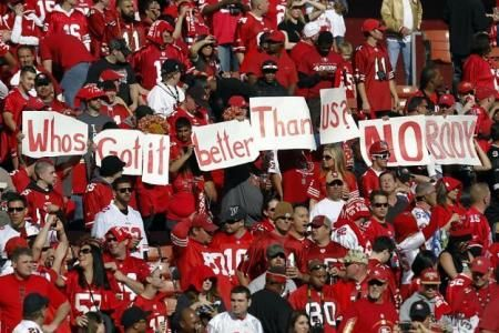 San Francisco 49ers: What's with the Fans and Can They Get Louder?