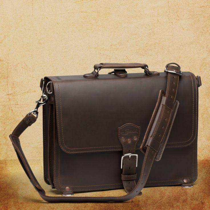 Shop Leather Briefcase Thin | Saddleback Leather Co.