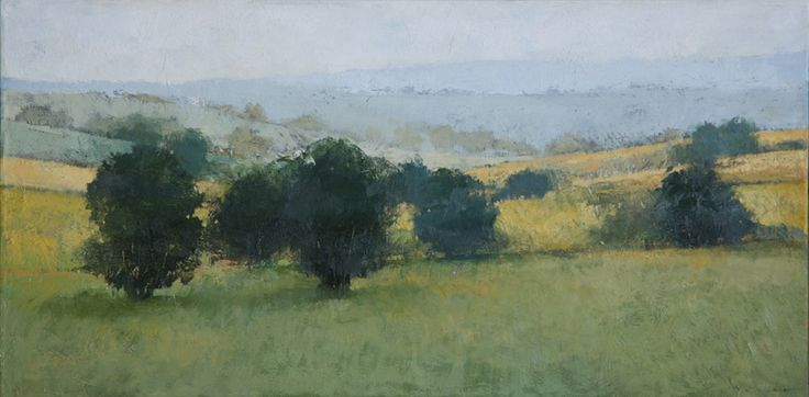 Rolling Mist : landscape paintings : Landscapes, Paul Balmer