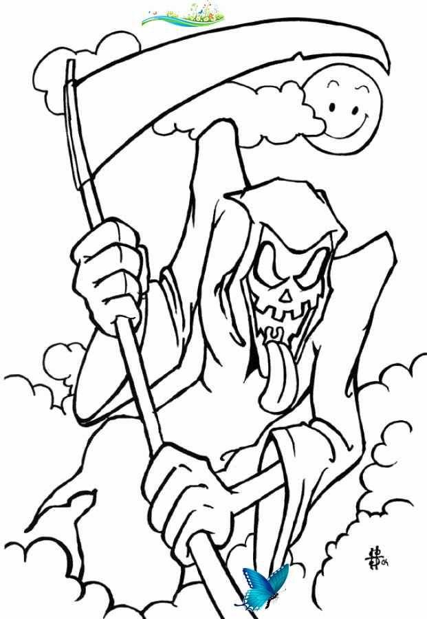 Scary Halloween Coloring Page Elegant Free Printable Halloween Coloring Pages For Kids Br In 2020 Malvorlagen Halloween Wenn Du Mal Buch Kurbis Malvorlage