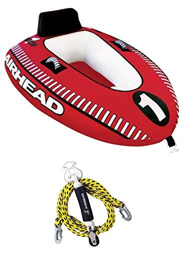 airhead mach 1 single rider inflatable boat towable tube towairhead mach 1 single rider inflatable boat towable tube tow harness ahm1 1 review