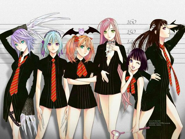 Vampire Hunter D Anime Characters : Best images about rosario vampire 「ロザリオとバンパイア」 on