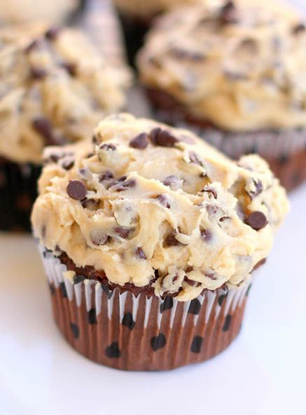 Cookie Dough Frosting by The Girl Who Eat Everything YUM!