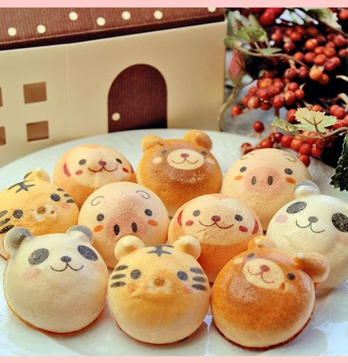 Oh god. I'd have to be some kind of monster to eat these cute little faces. *om nom nom*