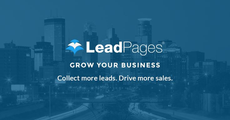 LeadPages™ Software is the world's easiest landing page generator. It's the easiest way to build conversion optimized & mobile responsive landing pages.