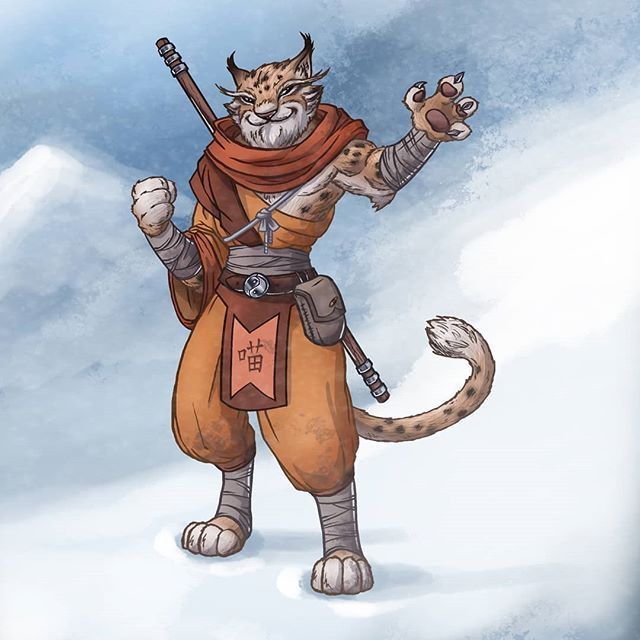 Image Result For Tabaxi Monk Art Character Humanoid Sketch Stone, tabaxi monk of the way of the garnet soul (renamed from the cobalt soul from critical role). image result for tabaxi monk art