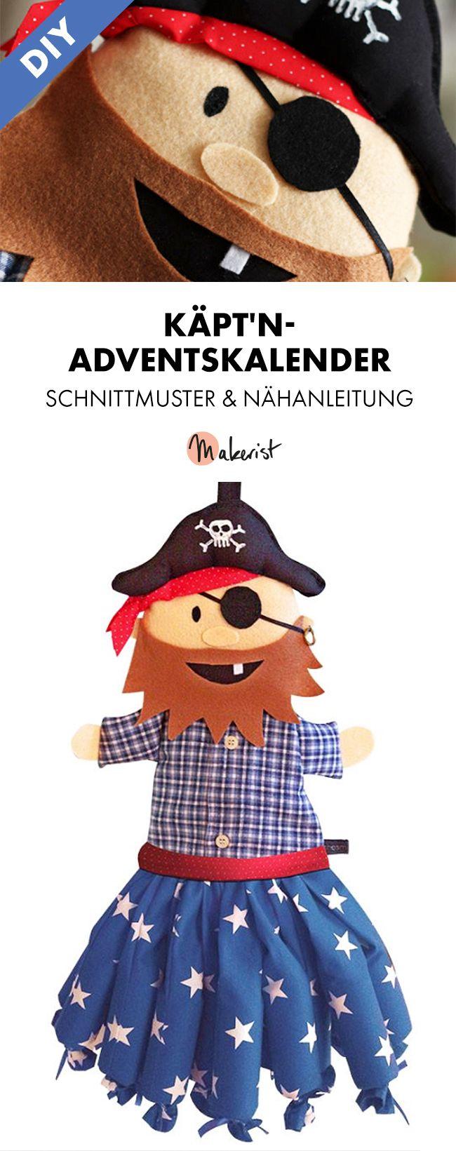 650 best advent calendar images on Pinterest   Adventskalender nähen ...
